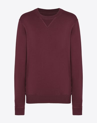 MAISON MARGIELA Sweatshirt U Cotton crewneck sweatshirt f
