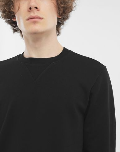KNITWEAR Cotton crewneck sweatshirt Black