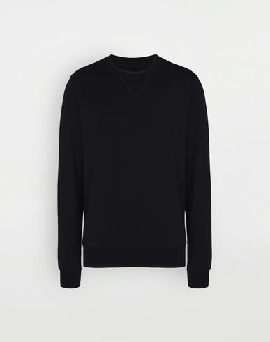 MAISON MARGIELA Sweatshirt [*** pickupInStoreShippingNotGuaranteed_info ***] Cotton crewneck sweatshirt f