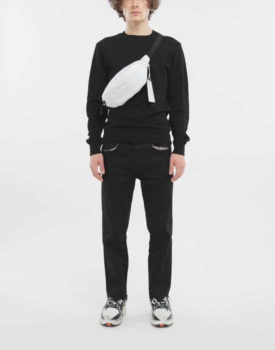 MAISON MARGIELA Cotton crewneck sweatshirt Sweatshirt [*** pickupInStoreShippingNotGuaranteed_info ***] d