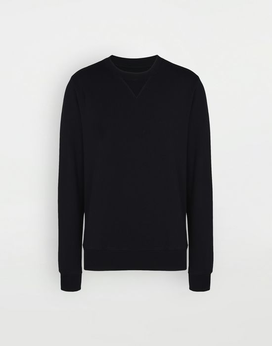 MAISON MARGIELA Cotton crewneck sweatshirt Sweatshirt [*** pickupInStoreShippingNotGuaranteed_info ***] f