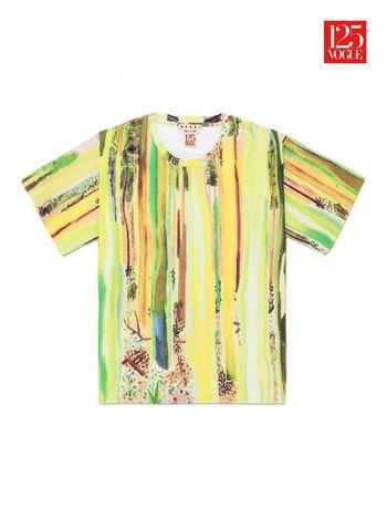 Marni Crew neck t-shirt print by Shara Hughes Woman