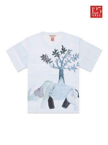 Marni Crew neck t-shirt print by Francesco Clemente Woman