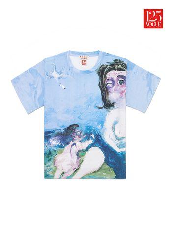Marni Crew neck t-shirt print by Genieve Figgis Woman