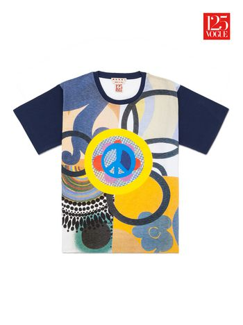 Marni Crew neck t-shirt print by Beatriz Milhazes Woman