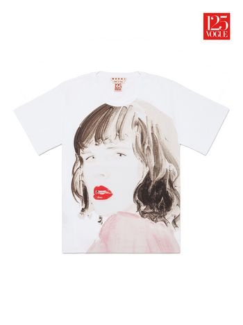 Marni Crew neck t-shirt print by Annie Kevans Woman