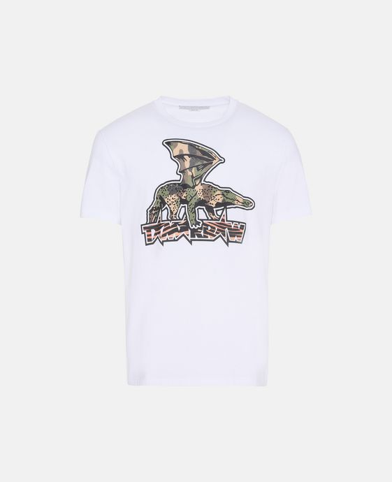 White Tomorrow Print T-Shirt