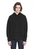 ALEXANDER WANG EXCLUSIVE OVERSIZED HOODIE WITH STRICT PATCH TOP Adult 8_n_d