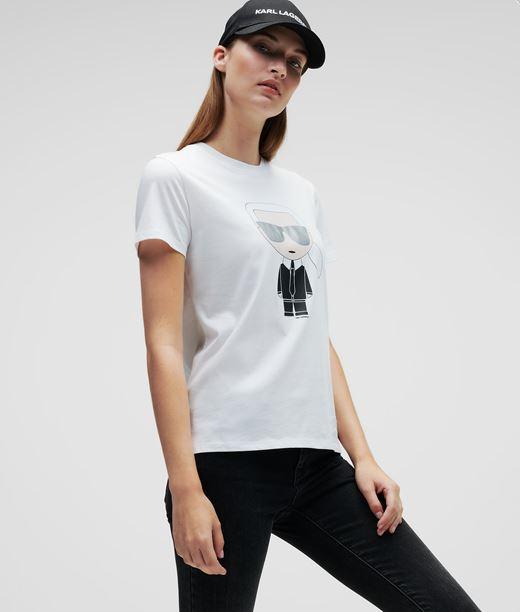 KARL LAGERFELD Ikonik Karl T-Shirt 12_f