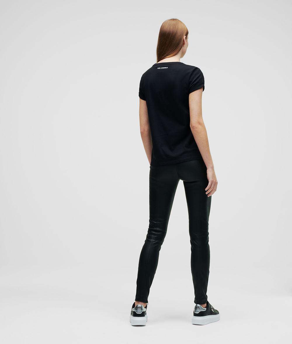 KARL LAGERFELD T-shirt à poche K/Ikonik T-shirt Femme d