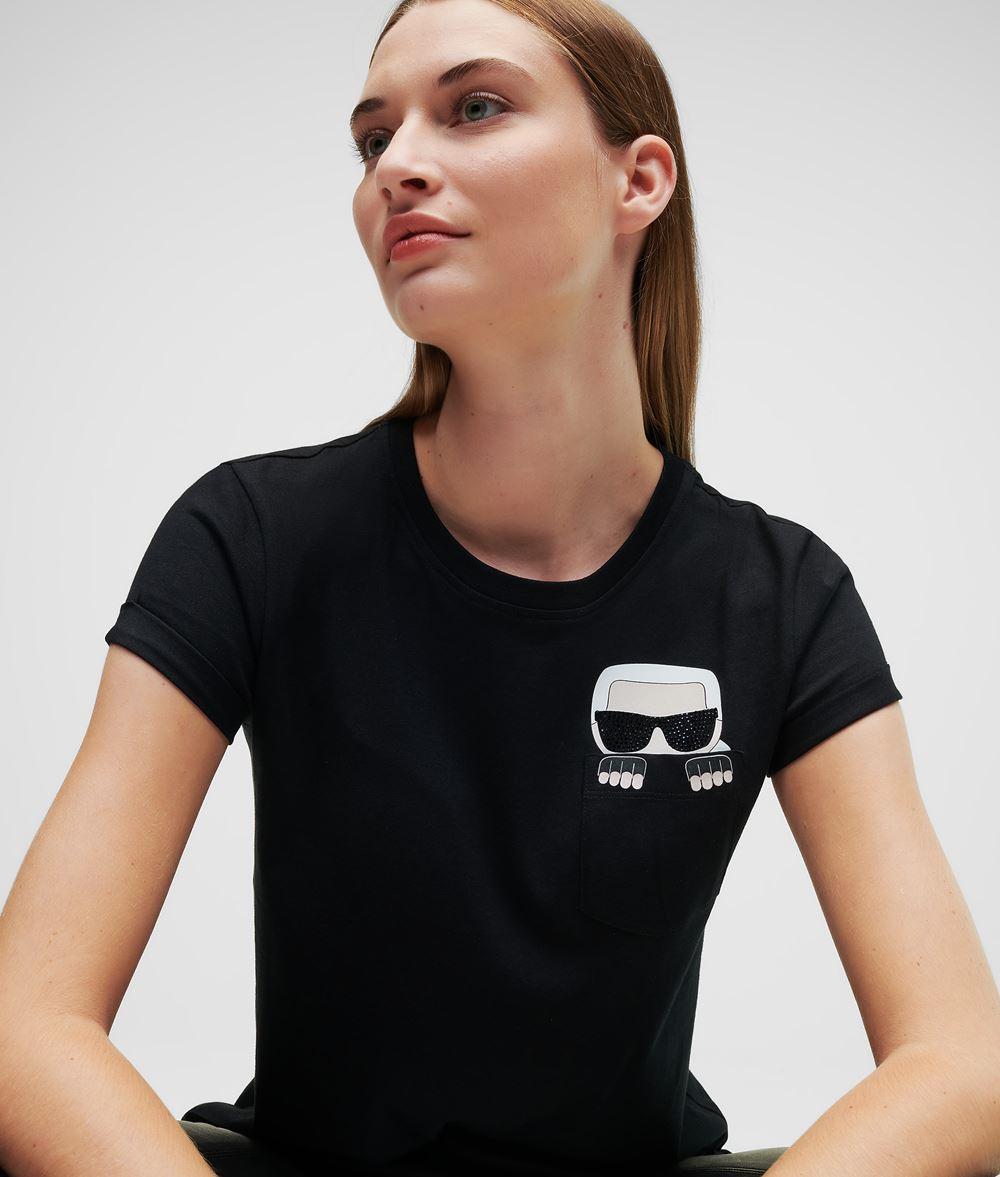 KARL LAGERFELD T-shirt à poche K/Ikonik T-shirt Femme f
