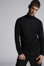 DSQUARED2 Wool Turtleneck Pullover Pullover Man