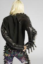 DSQUARED2 Leather Buckle Sweatshirt Sweatshirt Woman