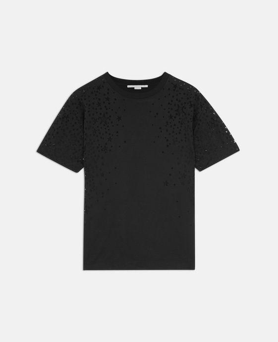 Black Star Cut-Out T-shirt