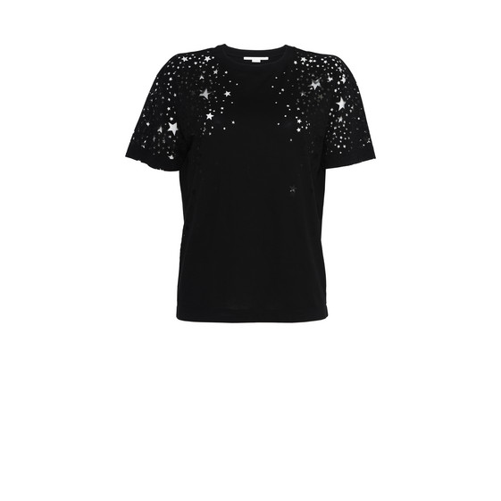 Black Star Cut-Out T-shirt