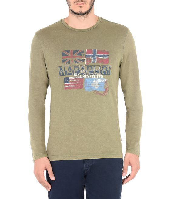 NAPAPIJRI SAJAMA Langärmliges T-Shirt Herren f