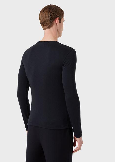 Knit in pure cashmere interlock