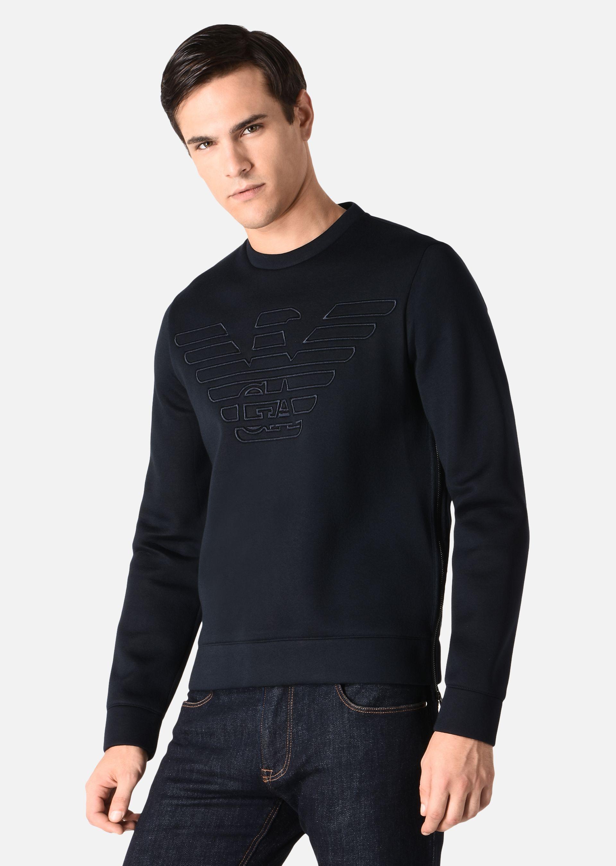 ea7 crew sweatshirt