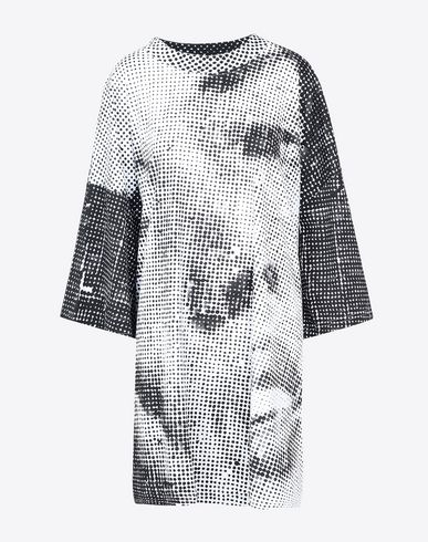 MAISON MARGIELA Long sleeve t-shirt D Oversized printed cotton T-shirt f