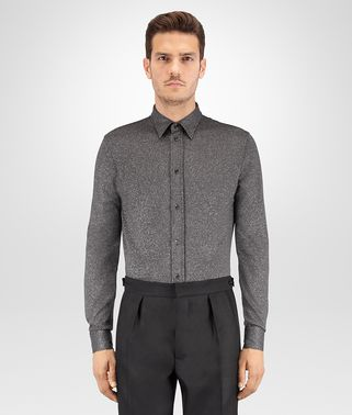 GREY LUREX PIQUET SHIRT