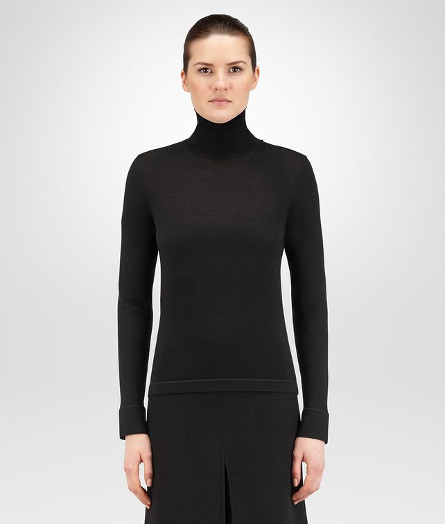 BOTTEGA VENETA NERO CASHMERE SWEATER Knitwear or Top or Shirt D fp
