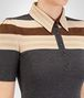 BOTTEGA VENETA DARK GREY WOOL TOP Knitwear or Top or Shirt Woman ap