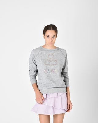 MILLY cotton sweatshirt