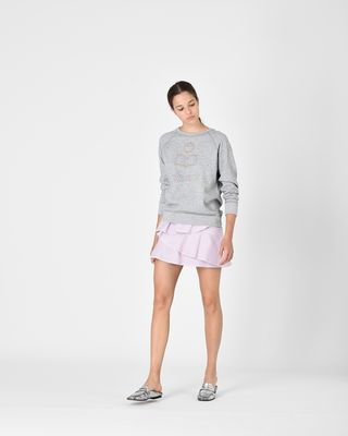 ISABEL MARANT ÉTOILE SWEAT-SHIRT Femme Sweatshirt en coton MILLY r