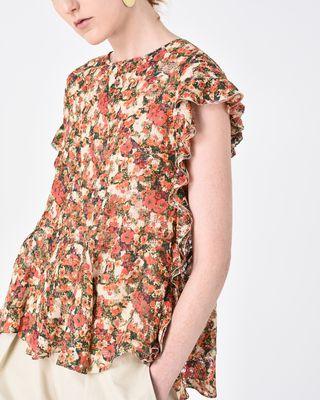 ISABEL MARANT TOP Woman FLIREN floral top r
