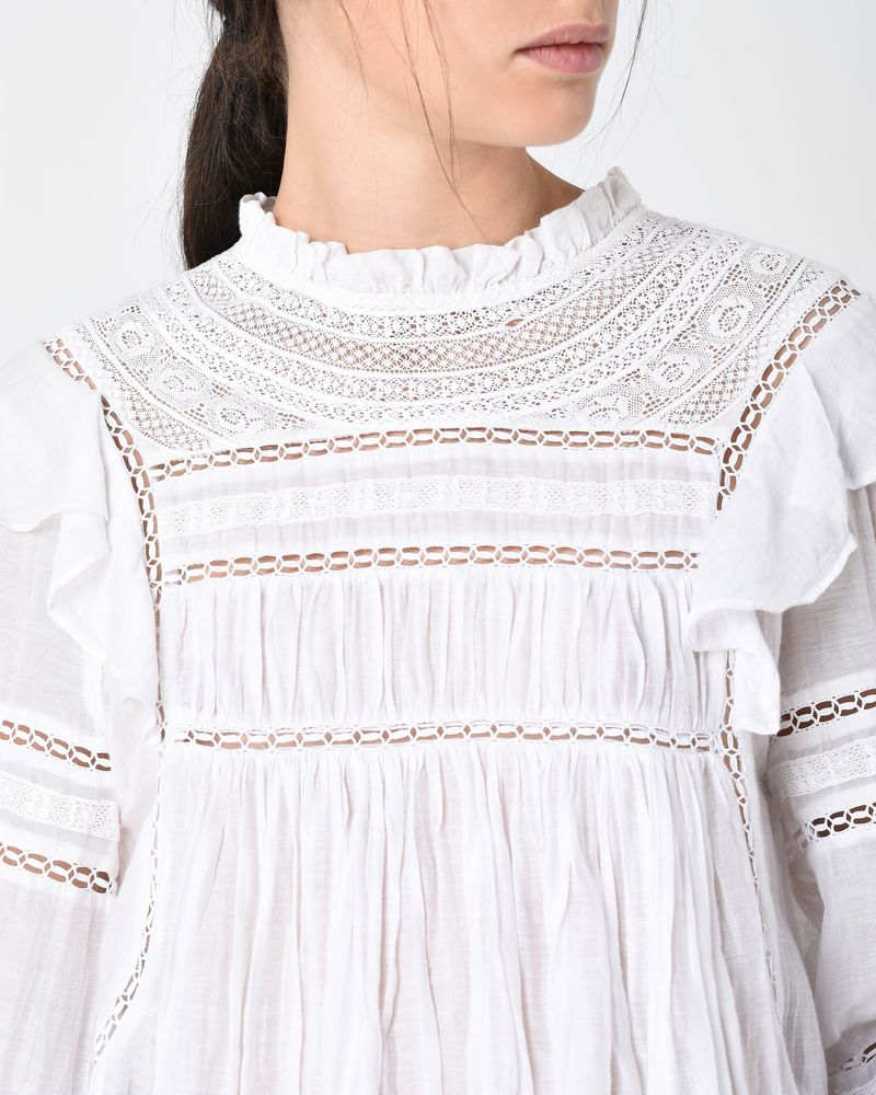 VIVIANA embroidered top ISABEL MARANT ÉTOILE