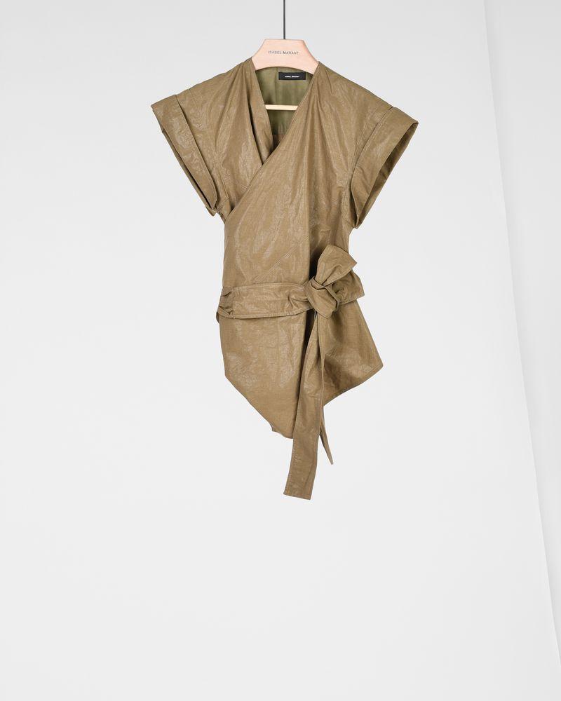 HEATHER kimono top ISABEL MARANT
