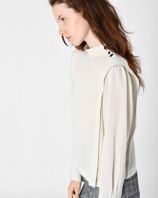 ISABEL MARANT TOP Woman KELISSA silk top r