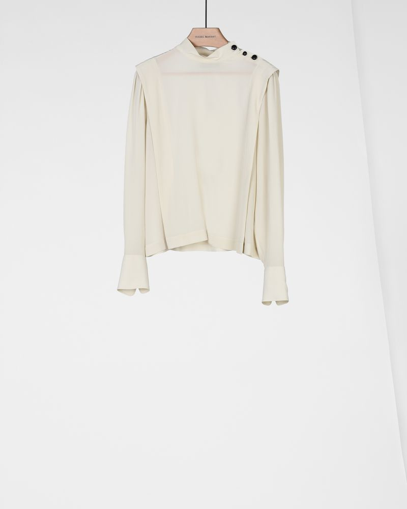KELISSA silk top ISABEL MARANT