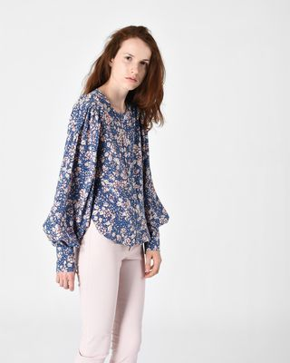 BERNY long-sleeved top