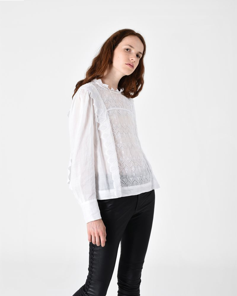 NUTSON graphic embroidered top ISABEL MARANT