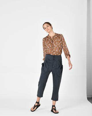 ISABEL MARANT ÉTOILE SHIRT & BLOUSE Woman MARIA printed top r
