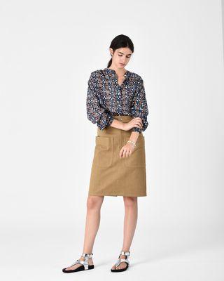 ISABEL MARANT ÉTOILE SHIRT & BLOUSE Woman NAHLA printed shirt r