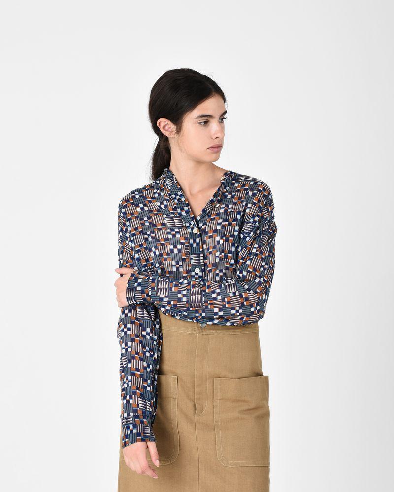 NAHLA printed shirt ISABEL MARANT ÉTOILE