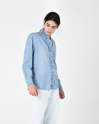 LAWENDY chambray shirt