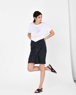 ISABEL MARANT ÉTOILE T-SHIRT Woman KOLDI logo T-shirt r