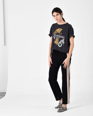 ISABEL MARANT ÉTOILE 티셔츠 여성 ZEWEL 프린트 티셔츠 r