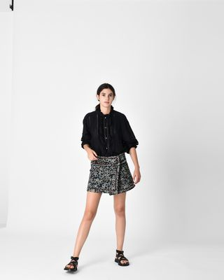 ISABEL MARANT ÉTOILE SHIRT & BLOUSE D VALDA embroidered shirt r