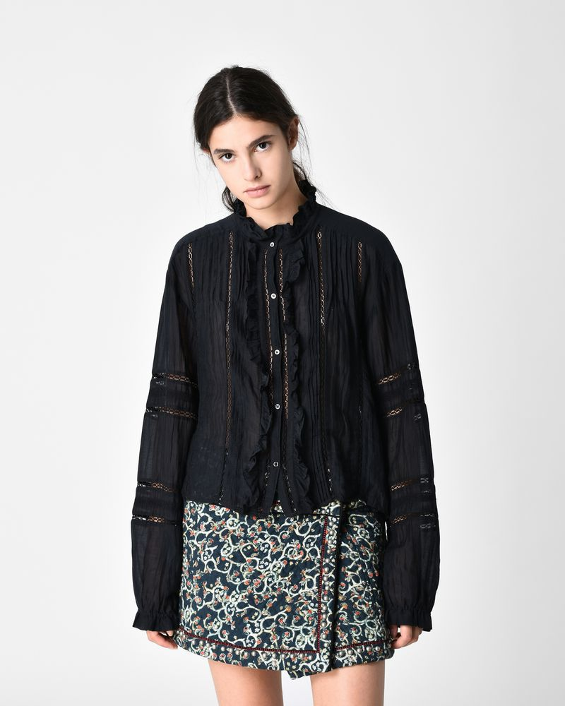 VALDA embroidered shirt ISABEL MARANT ÉTOILE