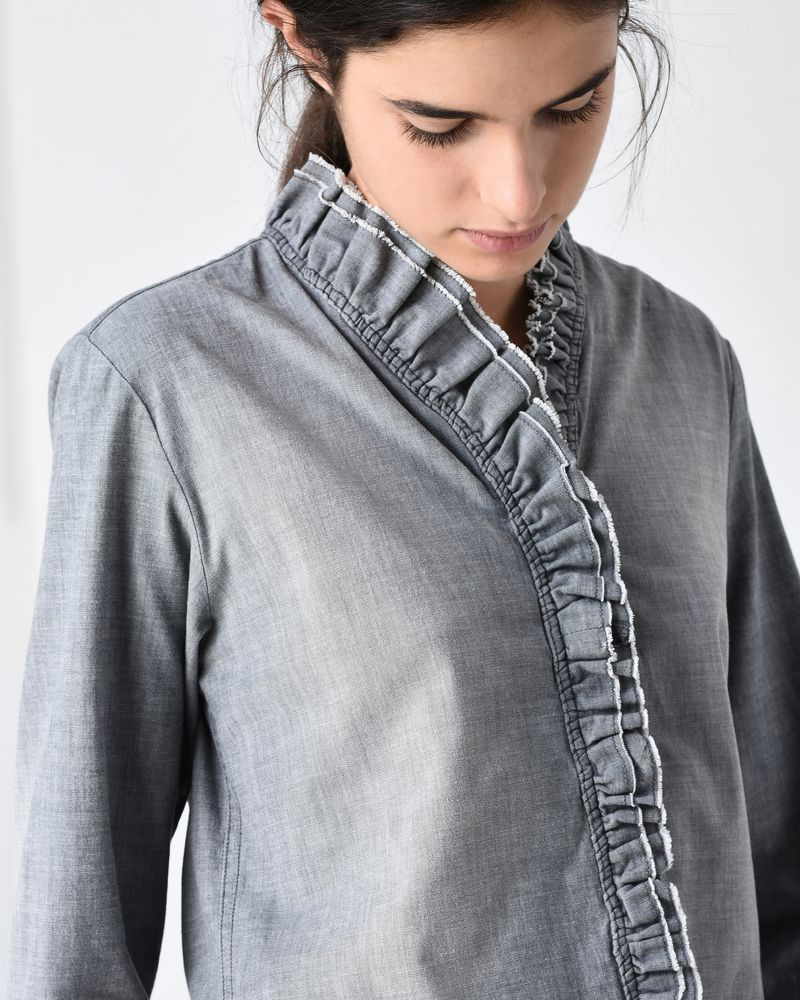 LAWENDY chambray shirt ISABEL MARANT ÉTOILE