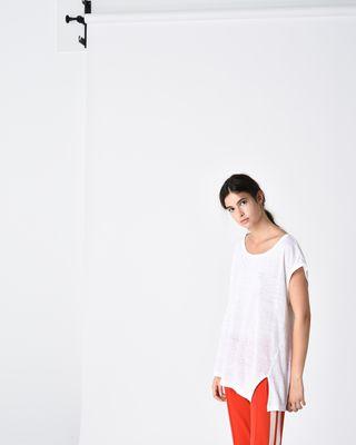 KELLER asymmetric T-shirt