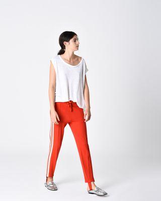 ISABEL MARANT ÉTOILE T-SHIRT Woman KELLER asymmetric T-shirt r