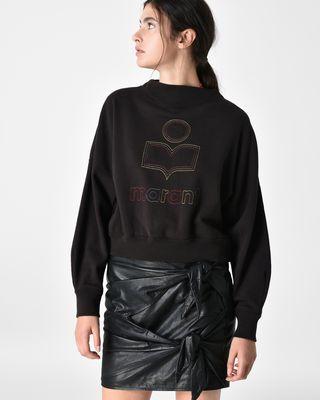 ODILON embroidered sweatshirt