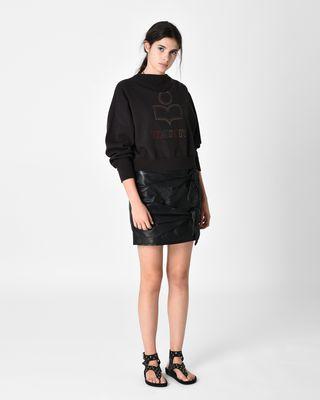 ISABEL MARANT ÉTOILE SWEATSHIRT Woman ODILON embroidered sweatshirt r