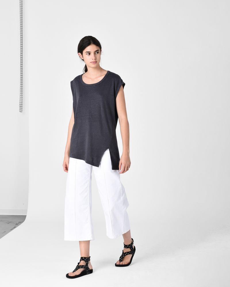 KELLER asymmetric T-shirt ISABEL MARANT ÉTOILE
