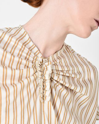 ISABEL MARANT TOP Woman IAGA short-sleeved striped top r